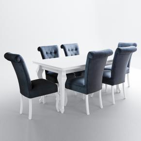 Ludwik K 200-300 8 krzeseł