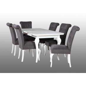Stół Lara + 6 krzeseł