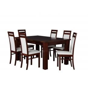 Stół XL 160-400x100+ 6xB27