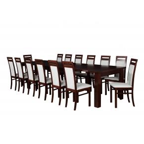 Stół XL 160-400x100+ 14xB27